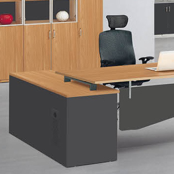 office working table cable management new design office staff computer table wooden lshape working desk china