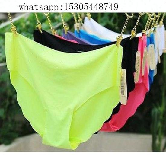 5b22a62c632 China Nylon Spandex Cotton Seamless Sexy Briefs Women Panty - China ...