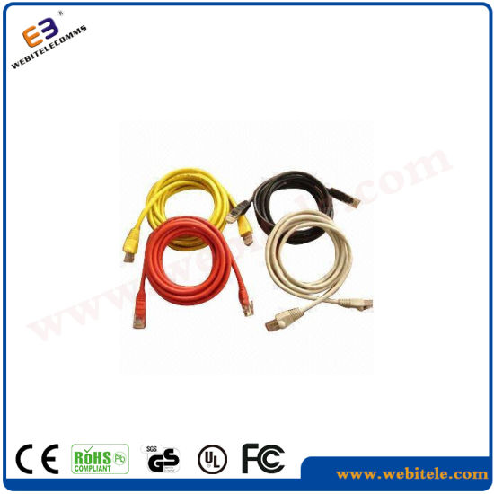 Cat5e Patch Cord Cable Sheilded Network Patch Cable pictures & photos