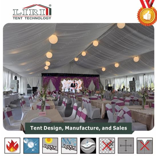 1500 People Outdoor Luxury Wedding Tent Hall Decorated Big Wedding Tents for Sale & China 1500 People Outdoor Luxury Wedding Tent Hall Decorated Big ...