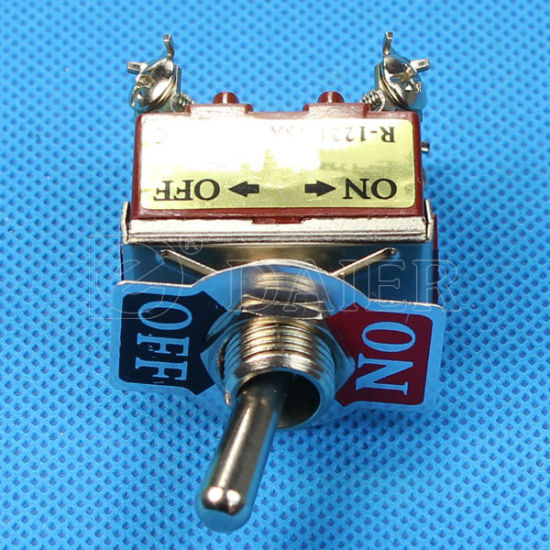 on- (ON) Dpdt Spring Return Toggle Switch (KN3(C)-212) pictures & photos
