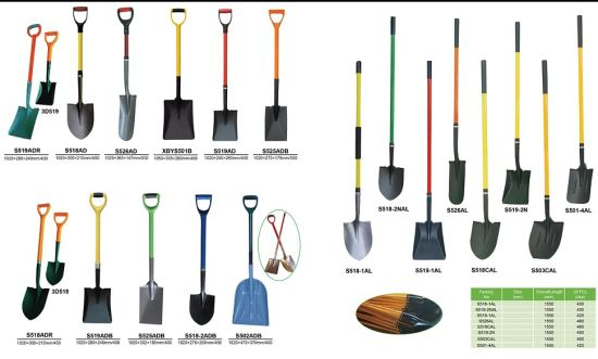 Metal Gardening Hand Spade Tools Agricultural Shovel pictures & photos