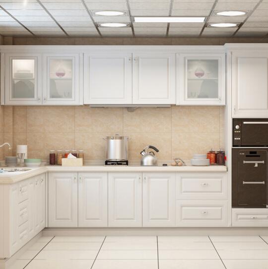 China Cheap White Modern Design Kitchen Cabinet - China ...