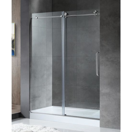 China Frameless Shower Door Sliding Door Swinging Door Tempered
