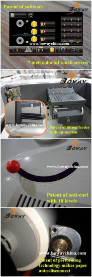 350mm Full Automatic Feeding Auto Slitting Cutting Double Sided Roll Film Paper Laminating Machine pictures & photos