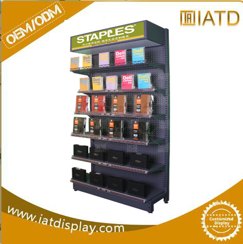 Metal Wire Advertising Wholesale Retail Product Floor Display Stand Rack Factory