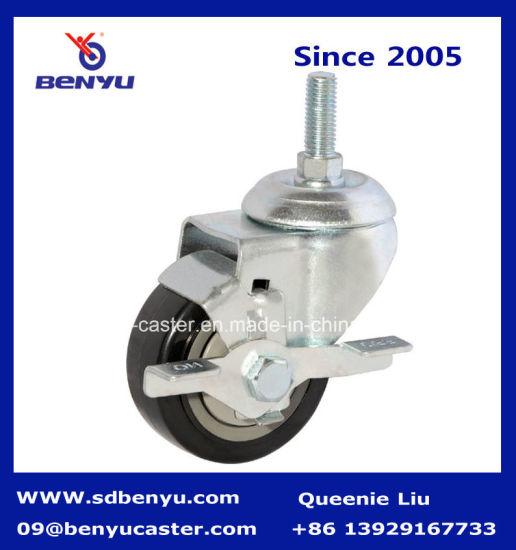 Medium Duty for Industrial Spare Parts Threaded Stem Swivel Caster