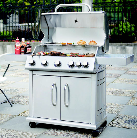 Full Stainless Steel 2/3/4/5/6 Burner BBQ Grill Gas