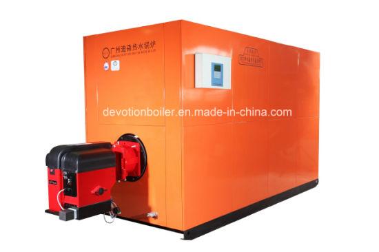 China 6000L/H Gas/Oil/Dual Fuel Hot Water Boiler - China 6000L Hot ...