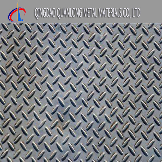 5mm Thick 304 /316 Embossed Stainless Steel Plate pictures & photos