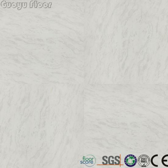 China Waterproof Marble Look Vinyl Flooring Tile China Vinyl