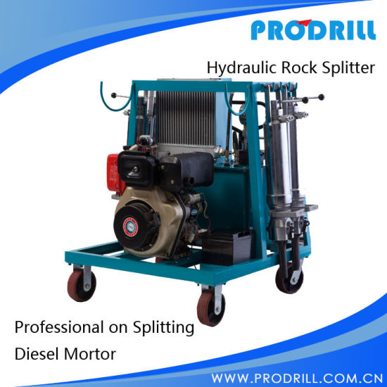 Pd450 (C12 Type) Hydraulic Stone Splitter for Natural Stone Demolition pictures & photos