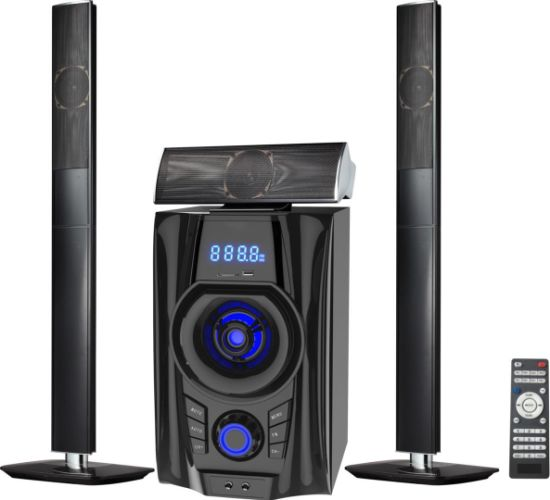 3.1 Active Home Theater Multimedia Speaker Box USB Audio Mobile Trolley Bluetooth Speaker