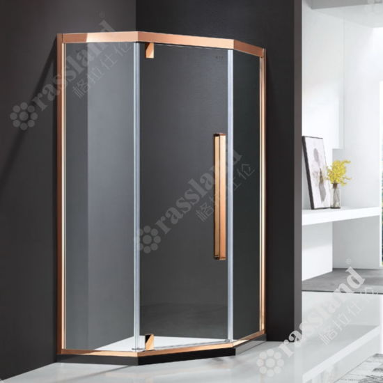 G06z21L Wholesale Customized Competitive Price Tempered Glass Hotel Bathroom Shower Room