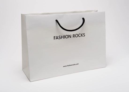 Paper Shopping Bag with Handle pictures & photos