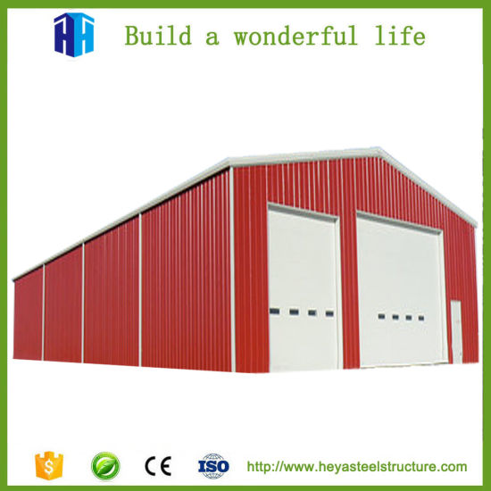 China Prefabricated Industrial Buildings Steel Frame Warehouse ...