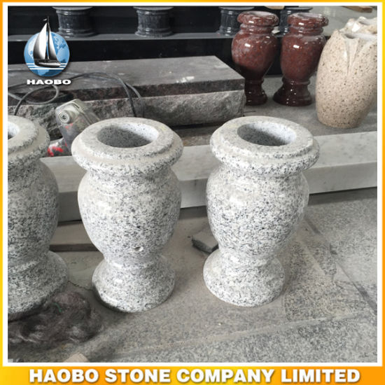 Granite Cemetery Use Vase Wholesale Flower Pot pictures & photos