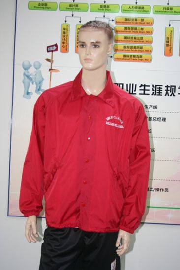 China Wholesale Sport Wear Sublimation Fleece Men Jacket pictures & photos