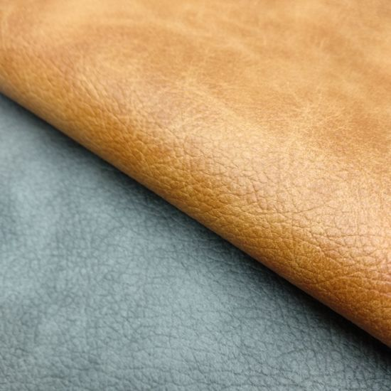 Printing Artificial Faux Synthetic PU Leather for Sofa /Chair -R212