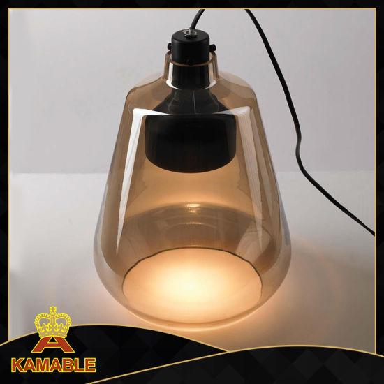 Decoration Modern House Glass Desk Lamp (MT10430-1-240)