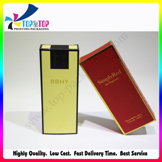 OEM Collapsible Design Custom Paper Material Perfume Box pictures & photos
