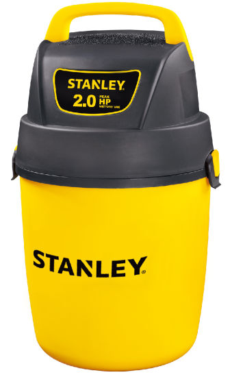 2 Gal Water Filter Wet and Dry Stanley Poly Vacuum Cleaner