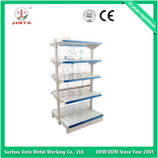 Garment Grocery Shop Display Shelf (JT-A17) pictures & photos