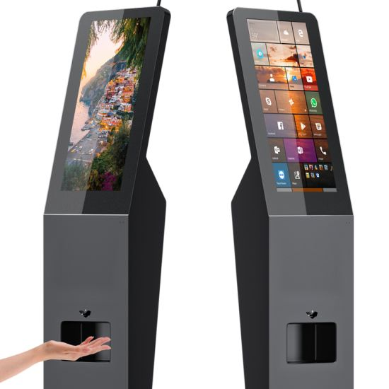 Android Digital Signage Media Player Hand Sanitizer Kiosk Publicidade Advertising Equipment pictures & photos