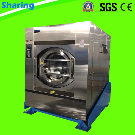 50kg, 100kg Industrial Laundry Washing Machine for Hotel, Hospital and Laundry Plant