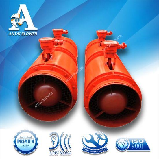 625-900m3/Min 2900rpm 2X30kw Axial Fan Tunnel/Mine Anti-Explosion Fan Exhaust Blower