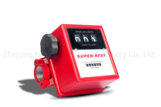 Mechanical 3 Digits Fuel Gravity Flow Meter FM-800