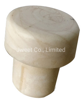 Spirits and Wines Glass Bottle Stopper Synthetic White Cork