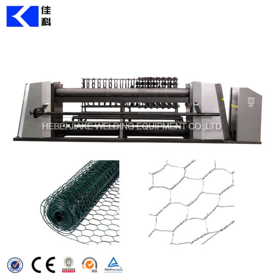 Full Automatic Hexagonal Wire Netting Machine for Chicken Cage Mesh