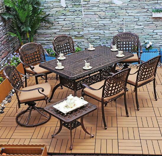 Weather Durable Outdoor Metal Furniture, Durable Outdoor Furniture