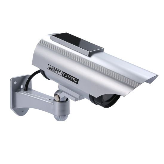 CCTV Waterproof Auto Blinking Solar Fake Camera pictures & photos