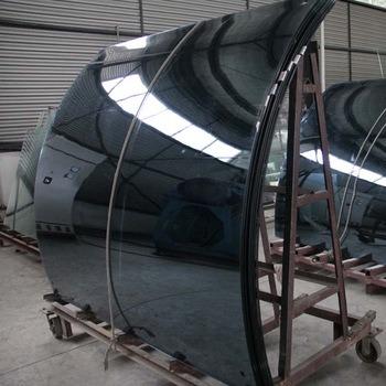 High Light Transmission 5mm-19mm Curved Tempered Glass