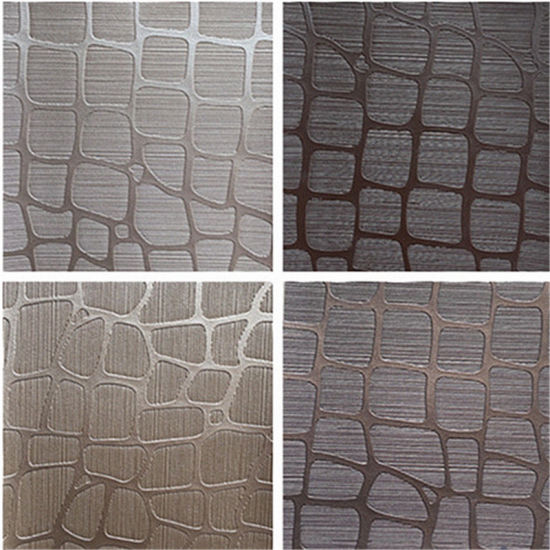 Manufacturer Faux PVC Vagan Fabrics Leather for Decoration Upholstery Furniture pictures & photos