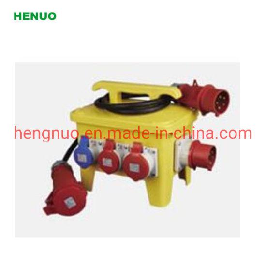 Zh1017 Plastic Box Waterproof IP67 32A Combination Socket Box