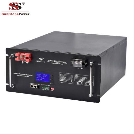 LiFePO4 Battery 48V 200ah BMS Bank Lithium Solar Storage Battery