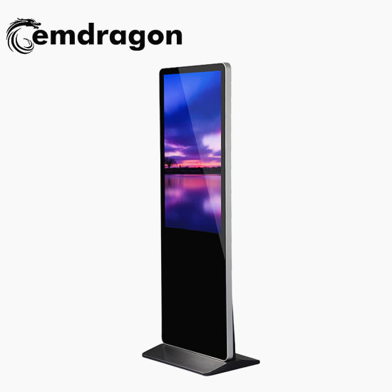LCD Advertising Display 42/46/55/65inch Floor Standing Ad LCD Media Player with Factory Price Interactivewhiteboard