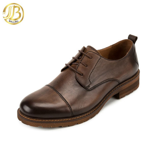 28faaa59ad85 China Wholesale High Class Leather Lace up Dress Men Top Brand Italian Men  Shoe pictures &