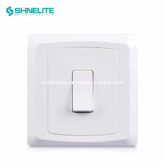 BS Standard Plastic Electrical Wall Switch Socket