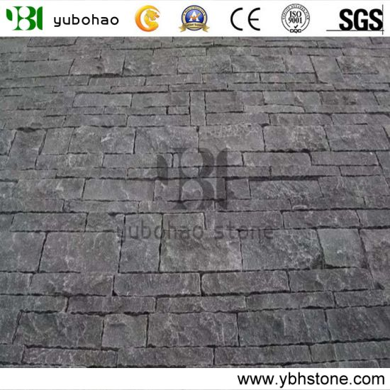 Wholesale Natural Stone Flamed/Honed/Tumbled Bluestone for Paving, Kerbstone, Stairs