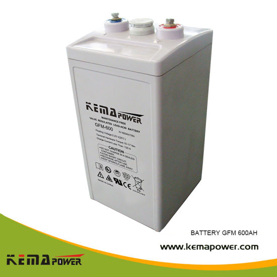 Gfm 1500ah Convenient Installation Storage Battery for Solar Wind Energy System pictures & photos