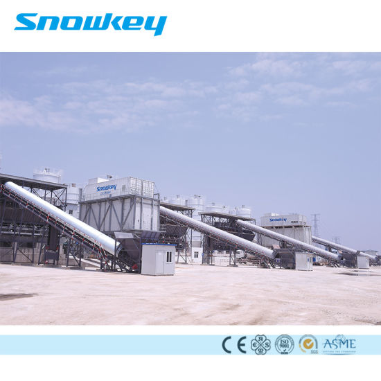 Snowman Snowkey Ice Cooling Concrete Systems Flake Ice Plant