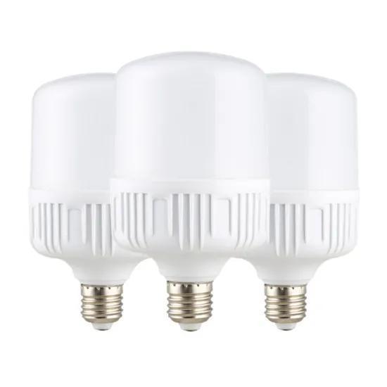 Popular E27/B22 5W/9W/13W/18W/28W/38W/48W AC85-265V Inside LED T Shape Light Bulb
