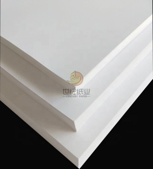 One Side Coated White Back Paper Board for Medical Box Making