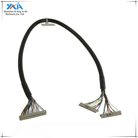 8 Bit LVDS Cable FIX-30 Pin 2ch For 17-26inch LCD//LED Panel Controller 25cm