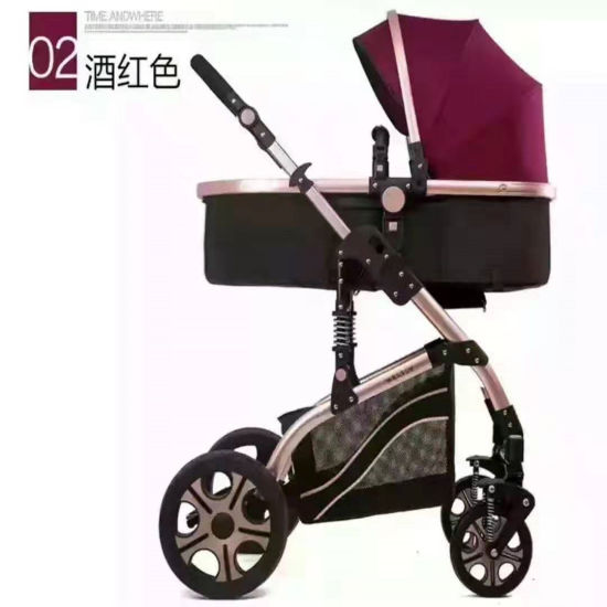 2020 New Design Multifunctional 3 in 1 Baby Pram, European Luxury 3 in 1 Baby Stroller/ BS-28 pictures & photos