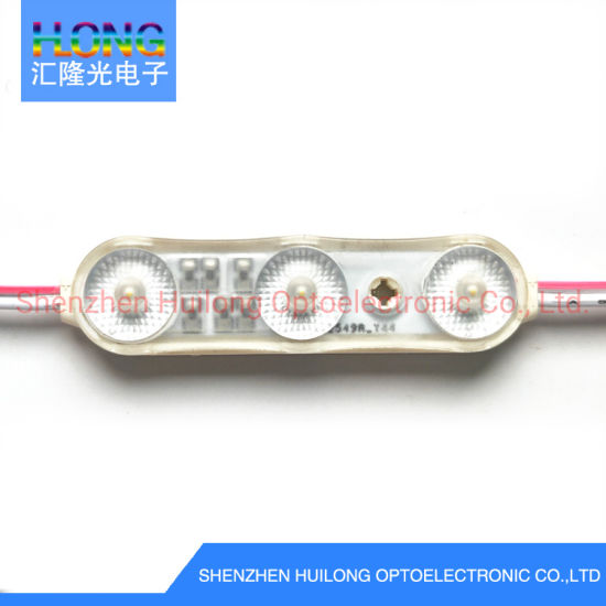 Newest Design High Brightness 200lm Large Beam Angle LED Injection Modules for Outddor Decroration Ad Boxes Waterproof